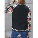 Floral Zip Up Short Sports Jacket deal