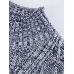 Knitted Textured Heathered Asymmetric Vest deal
