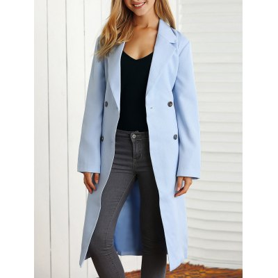 Belted Maxi Trench Coat