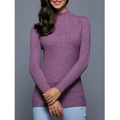 Textured Slimming Sweater