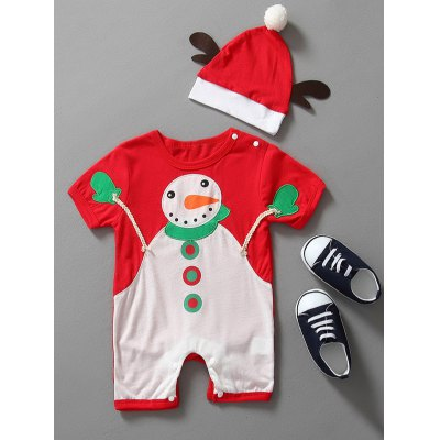 Christmas Clothes Outfits Kids Romper