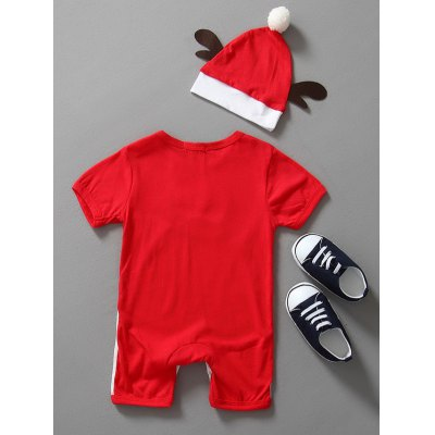 Baby Christmas Clothes Outfits Kids Romper