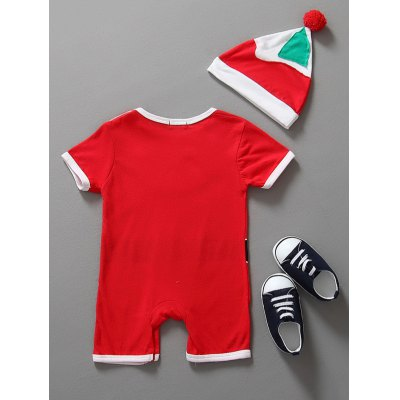 Baby Christmas Clothes Santa Claus Outfits Kids Romper