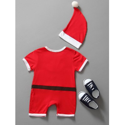 Christmas Clothes Santa Claus Outfits Kids Romper