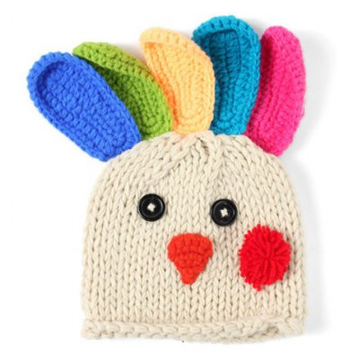 Knitted Chick Hat
