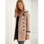 Belted Pockets Trench Coat deal