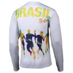 cheap Football 3D Printed Round Neck Long Sleeve T-Shirt