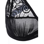 Strappy Lace See-Through Bra Set deal