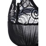 Strappy Lace See-Through Bra Set for sale