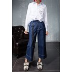 Wide Leg Cropped Jeans deal