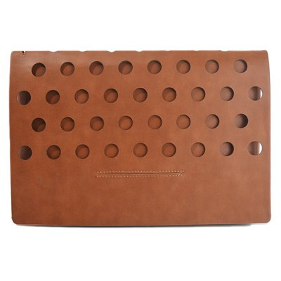 Hollow Out PU Leather Clutch Bag