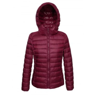 Zip Up Hooded Short Down CoatPlus Size Outerwear<br>Zip Up Hooded Short Down Coat<br><br>Clothes Type: Down Coat<br>Material: Down<br>Type: Slim<br>Clothing Length: Short<br>Sleeve Length: Full<br>Collar: Hooded<br>Pattern Type: Solid<br>Embellishment: Zippers<br>Style: Fashion<br>Season: Winter<br>Weight: 0.320kg<br>Package Contents: 1 x Coat