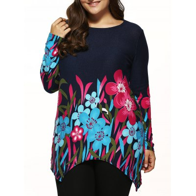 Asymmetrical Knitted Pullover