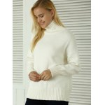 Knitted Pullover Loose-Fitting Sweater deal