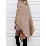 Cowl Neck Poncho Sweater deal