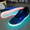 Lights Up Led Luminous Lightning Print Casual Shoes for sale