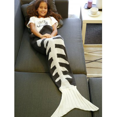 Super Soft Fish Bone Design Knitted Mermaid Tail BlanketBedding<br>Super Soft Fish Bone Design Knitted Mermaid Tail Blanket<br><br>Material: Acrylic<br>Package Contents: 1 x Blanket<br>Pattern Type: Others<br>Type: Knitted<br>Weight: 1.190kg