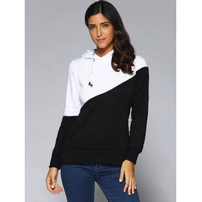 Contrast Color Spliced Pocket Design HoodieSweatshirts &amp; Hoodies<br>Contrast Color Spliced Pocket Design Hoodie<br><br>Clothing Length: Long<br>Material: Polyester<br>Package Contents: 1 x Hoodie<br>Pattern Style: Patchwork<br>Season: Fall, Spring<br>Sleeve Length: Full<br>Style: Casual<br>Weight: 0.389kg