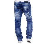 cheap Straight Leg Distressed Jeans