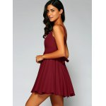 Cami String Fitting Pleated Dress deal