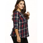 Plaid Checked Loose T-Shirt deal