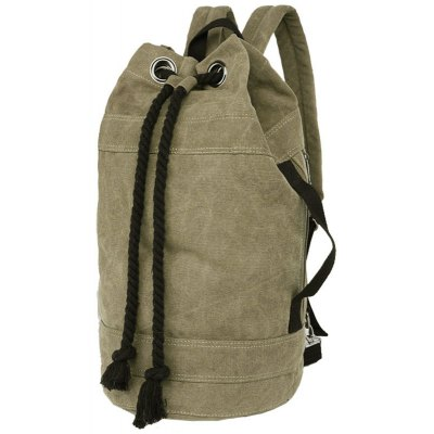 Drawstring Design Backpack For Men