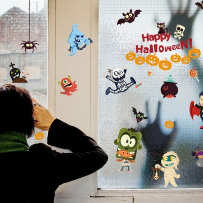 Halloween Cartoon Room Wall Sticker