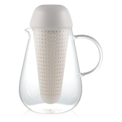 Glass Heatproof Lucency Teakettle With Strainer