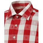 Long Sleeve Two-Tone Checked Shirt deal