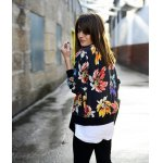 cheap Ethnic Floral Thin Cotton Jacket