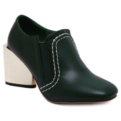 Square Toe Strange Style Pumps