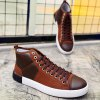 Lace-Up Splicing Suede Casual Shoes deal
