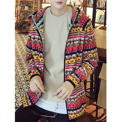 Raglan Sleeve Zipper Up Tribal Printed HoodieMens Hoodies &amp; Sweatshirts<br>Raglan Sleeve Zipper Up Tribal Printed Hoodie<br><br>Material: Cotton,Polyester<br>Clothing Length: Regular<br>Sleeve Length: Full<br>Style: Casual<br>Weight: 0.500kg<br>Package Contents: 1 x Hoodie
