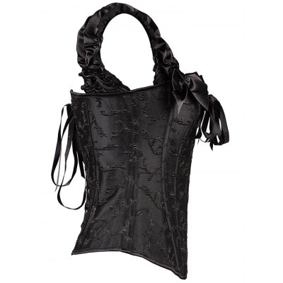 Bowknot Lace-Up Corset