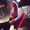 Tie Up Led Luminous Lights Up Athletic Shoes for sale