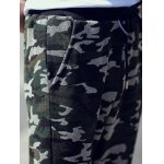 Drawstring Waist Camo Printed Pants for sale