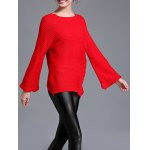 Raglan Sleeve Loose Fitting Pullover Sweater deal