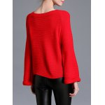 Raglan Sleeve Loose Fitting Pullover Sweater for sale