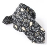 cheap Paisley and Snowflake Pattern 6CM Width Tie
