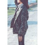 Fur Collar Camouflage Jacket deal