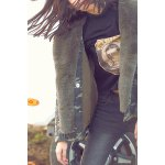 Fur Collar Camouflage Jacket for sale