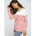 cheap Striped Casual Sweater