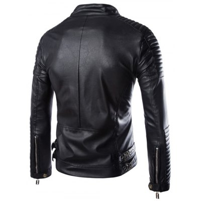 stand-collar-zip-up-moto-pu-leather-jacket