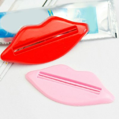 Commodity 2PCS Mouth Shape Toothpaste Squeezers