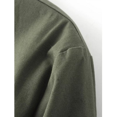 Fitting Thick Bomber JacketJackets &amp; Coats<br>Fitting Thick Bomber Jacket<br><br>Clothes Type: Jackets<br>Material: Cotton<br>Type: Slim<br>Clothing Length: Regular<br>Sleeve Length: Full<br>Collar: Stand-Up Collar<br>Pattern Type: Solid<br>Embellishment: Zippers<br>Style: Fashion<br>Season: Fall,Winter<br>Weight: 0.300kg<br>Package Contents: 1 x Jacket