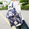 Canvas Stars Cross Print Backpack for sale