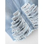 Frayed Jean Skirt for sale