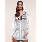 cheap Pockets Design Lace Hoodie