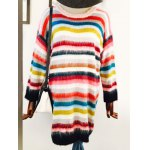 Rainbow Stripe Sweater Dress deal