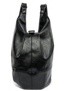 PU Leather Convertible Backpack